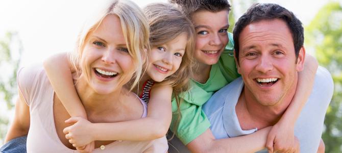 gezin samen