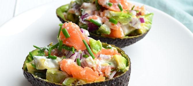 luxe avocado zalm voor 1