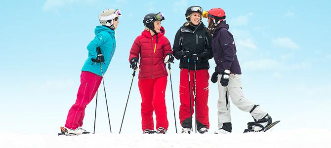 skiën als singles