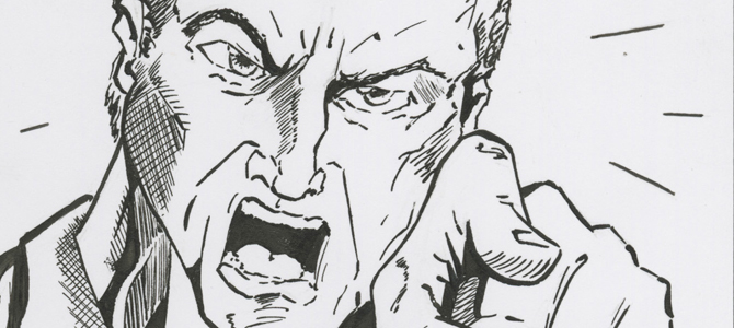 maak een narcist niet boos