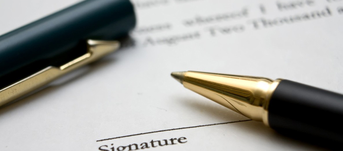 zekerheid met contract