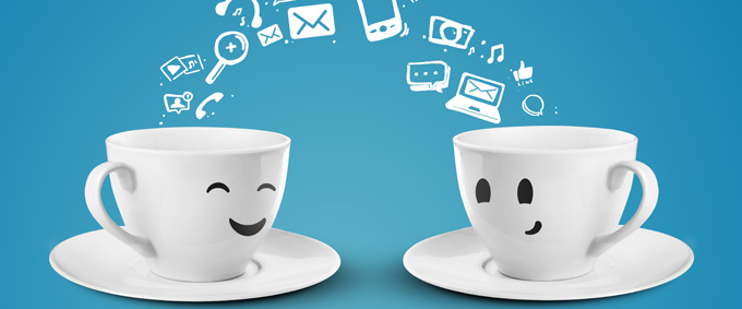Bagel en koffie dating website