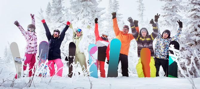 wintersport groep singles