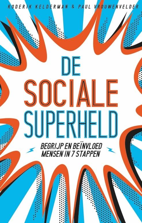 boek sociale superheld