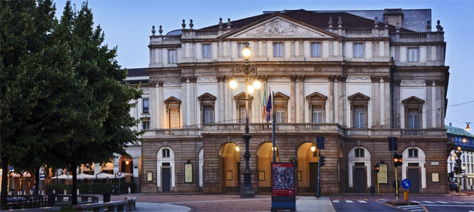Milaan opera muziekreis