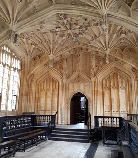 Harry Potter Eetzaal Oxford