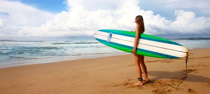 surfen vakantie