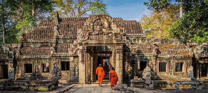 Cambodja groepsreizen