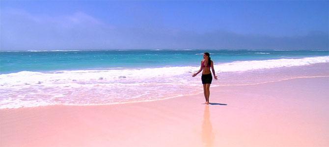 roze stranden